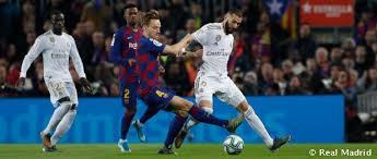 barcelona real madrid la liga