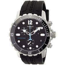 tissot men s t0664171705700 seastar chronograph black rubber tissot men s t0664171705700 seastar chronograph black rubber watch
