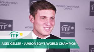 2018 Champions Dinner | Alex Geller | Junior Boy's World Champion ...