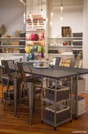 Craft Room Lighting Ideas Ikea Pinterest Looking For Gorgeous Inspiring Craft Room Ideas Take Look At The Studio Of Handcrafted Lifestyle Expert Lia Griffith Here Studio Tour Our Craft Room Inspiration Room Crafts