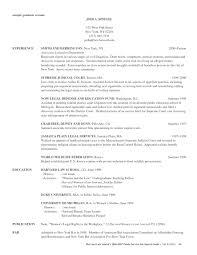 Gallery Of Law School Resume Template