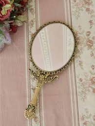 Victorian hand held mirrors Giant Hand Gold Hand Held Mirror Lipstick Holder Gold Hands Holding Hands Mirror Mirror Pinterest 150 Best Hand Mirrors Images Mirror Powder Room Dressing Tables