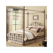 Iron Canopy Beds Frames for sale | eBay