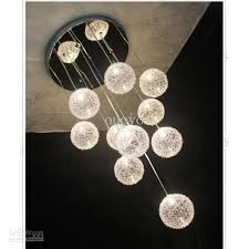 100 brand new with high qualitymodel aluminum pendant lightsize for top base diameter 35cmprice doesnt includes light bulbs ball pendant lighting