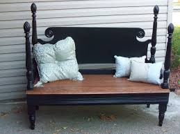 Headboard To Bench Bench From Headboard And Footboard Headboard And Footboard