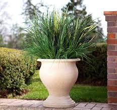 planters large clay flower pots extra for outside indoor planter with grass pottery houston ind
