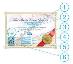 food handler certificate sle