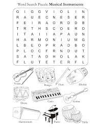 Musical Worksheets Worksheets