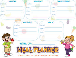 Planned Meals For A Week 10 Ways To Get Inspired To Meal Plan Today Healthy Ideas For Kids