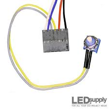 buckpuck wiring harness dimming wires and potentiometer click to enlarge