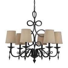8600 6 light bronze chandelier