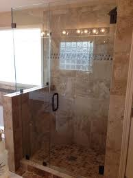 half wall shower enclosure shock glass google search bathroom ideas home design 20