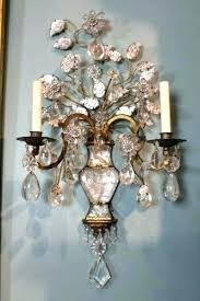 wall sconce chandelier chandeliers wall sconces full image for pair of rock crystal sconces by from chandelier wall sconce