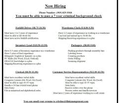 Resume Warehouse Job Sample Worker Driver Photo Examples