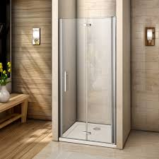 frameless bifold shower door