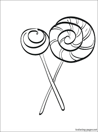 Lollipop Coloring Page Image Result For Lollipop Coloring Candy