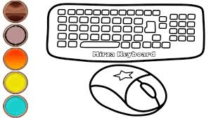 Get free printable coloring pages for kids. Computer Coloring App Pages Pdf Book Mouse Images Colorful Printable Pic Of A Computcomputer For Kids Golfrealestateonline