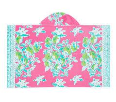 lilly pulitzer pink lemonade beach wrap