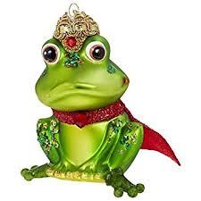 Gift Company Christbaumschmuck X Mas Frosch Froschkönig