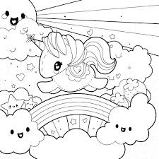 Printable Rainbow Coloring Pages M6351 Rainbow Dash Coloring Page
