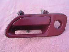 lincoln mark viii door 1994 lincoln continental mark viii lh driver side door handle red gf fits