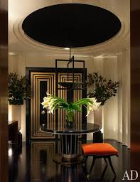 ... luxurious finishes and home fabrics for Art Deco decorating