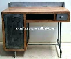 industrial style office desk modern industrial desk. Plain Industrial Industrial Style Office Furniture Desk  Medium Size Of In Industrial Style Office Desk Modern E