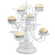 chandelier cupcake holder tiered stands gold