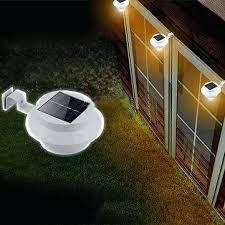 solar powered light outdoor solar powered led fence light outdoor garden wall lobby pathway lamp solar