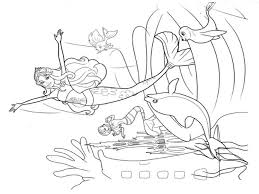 Mermaid Coloring Pages - GetColoringPages.com