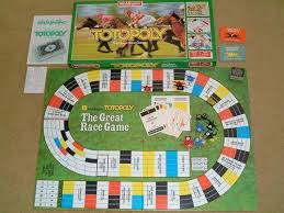 Wooden Horse Race Game Rules Remember the great race game Totopoly Prince Edward County News 27