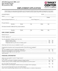 6 Sample Target Job Application Free Sample Example Format Download