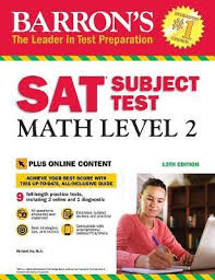 Math 2 Subject Test Score Chart Barrons Sat Subject Test Math Level 2 With Online Tests