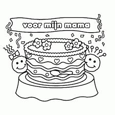 25 Idee Kleurplaat Verjaardag Mama Mandala Kleurplaat Voor Kinderen