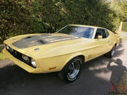1972 Ford Mustang Mach 1 351 related infomation,specifications ...