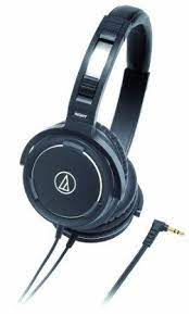 Audio Technica Athws55bk Solid Bass Audio Headphones Bass Headphones Headphone Gifts Headphones