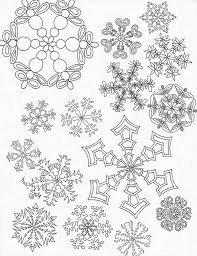 Small Picture All Snowflakes Picture Coloring Page NetArt