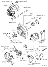 TOYOTA COROLLAEE97R-AWKRS - TOOL-ENGINE-FUEL - ALTERNATOR | Japan ...