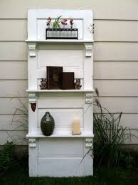 give a lower shelf ility here old doors re use cool decoration and diy furniture