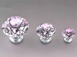 crystal furniture knobs. Crystal Knobs Pink Glass Knob Drawer Pull Dresser Pulls Handles Kitchen Cabinet Sparkly Decorative Hardware Silver Shiny ARoseRambling Furniture E