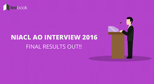 niacl results of interview final selection 2016 out testbook niacl results of interview final selection 2016 out