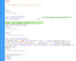 Eine neue Webseite entsteht (Teil 10): WordPress Footer-Widgets ...