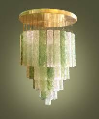 original design ceiling light n glass murano