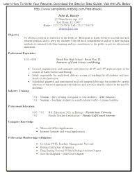 Resume Templates For Teachers Stunning Create A Resume Template Inspirational Create Free Resume Templates