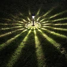 lighting in garden. Solar Light Garden LED Lighting\\ Tower Lamp Plastic Black And Bronze Can Option Outdoor Landscape Lighting In