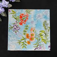 Flower Printed Paper Details About 20pcs 33 33cm Flower Printed Paper Napkins 100 Virgin Wood Napkin