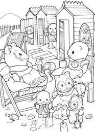 Small Picture Billedresultat for Sylvanian Families Coloring Pages Sylvanian