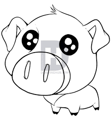 680x720 how to draw a cute pig step