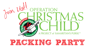 Hosting an Operation Christmas Child Shoebox Party