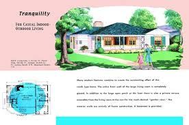 house plans with large front porch luxury ranch homes plans for america in the 1950s of
